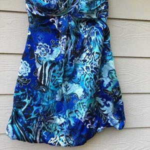 Cache dress silk size 6